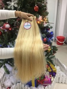 VIETNAM HAIR MACHINE WEFT STRAIGHT MIX #18 AND 60
