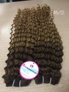 VIETNAMESE REMY HAIR OMBRE CURLY WEFT