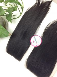 CLOSURE HAIR STRAIGHT, COLOR 4, 14 INCHES