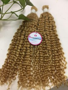 VIETNAM HAIR BULK #16 DEEP CURLY 24 inches