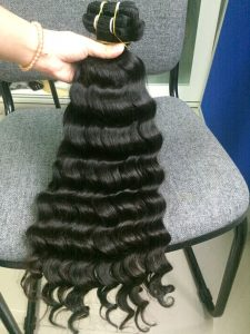 VIETNAM HAIR MACHINE WEFT #1B BODY WAVY 24 inch