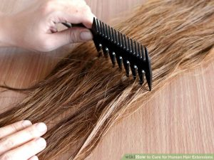 Tips for maintain hair extensions