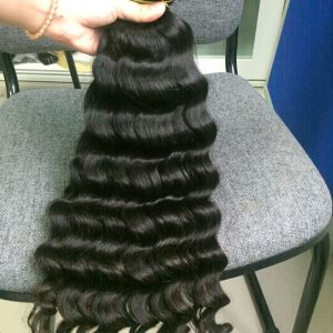 Vietnam Hair Machine Weft #1b Body Wavy 24 1
