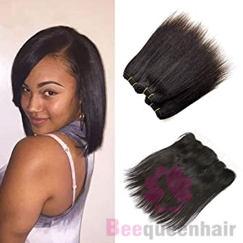 8 Inch Straight Hair Extensions