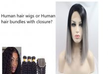 human hair wigs or human hair bundles with closure