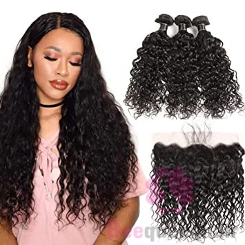 Use Curly Hair Bundles With Lace Frontal For More Natural Looking