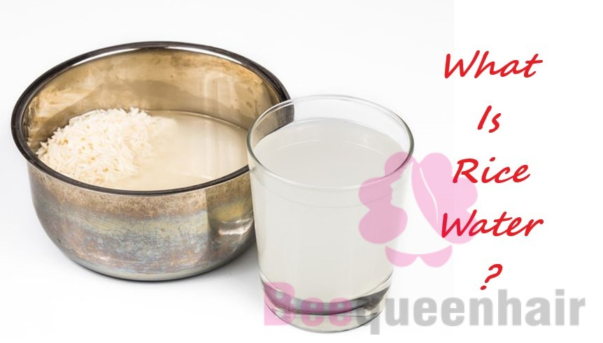 What Is Rice Water