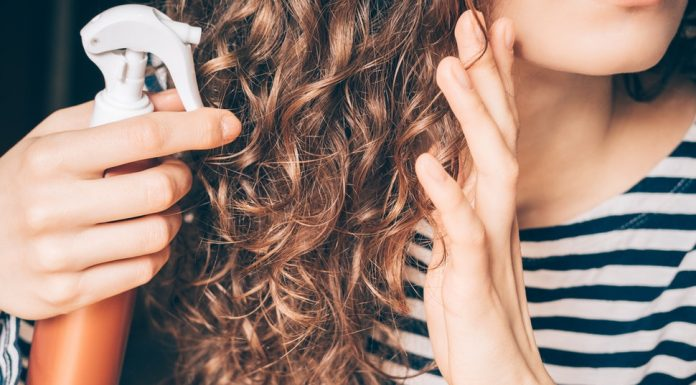 Add Hairspray Lightly To Hold Your Curls