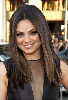 Armpit Length Dark Brown Straight Hair