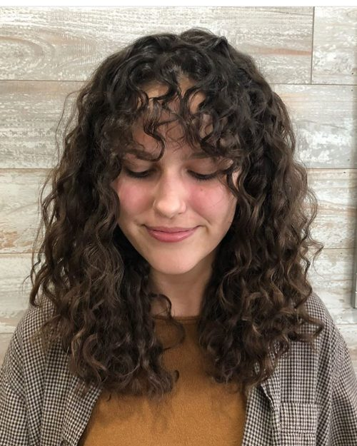 Armpit Length Hairstyles With Curls