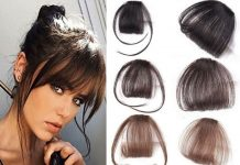 Choosing Clip In Bangs