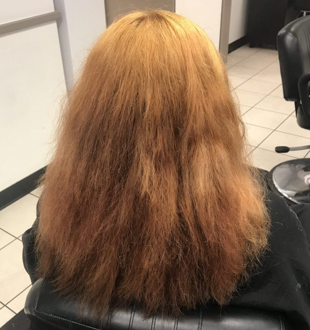 Color Or Bleach Damaged Hair