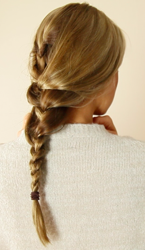 During Sleeping, Swimming Or Other Physical Activities, Wear Low Braids Or Ponytails