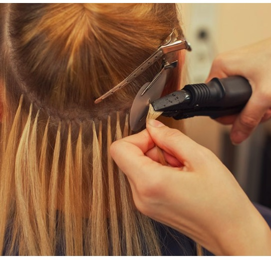 Using Oil To Removed Glued Hair Extensions