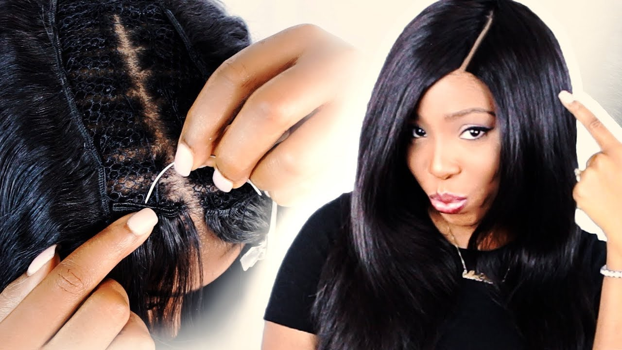 How To Apply Middle Part Sew In