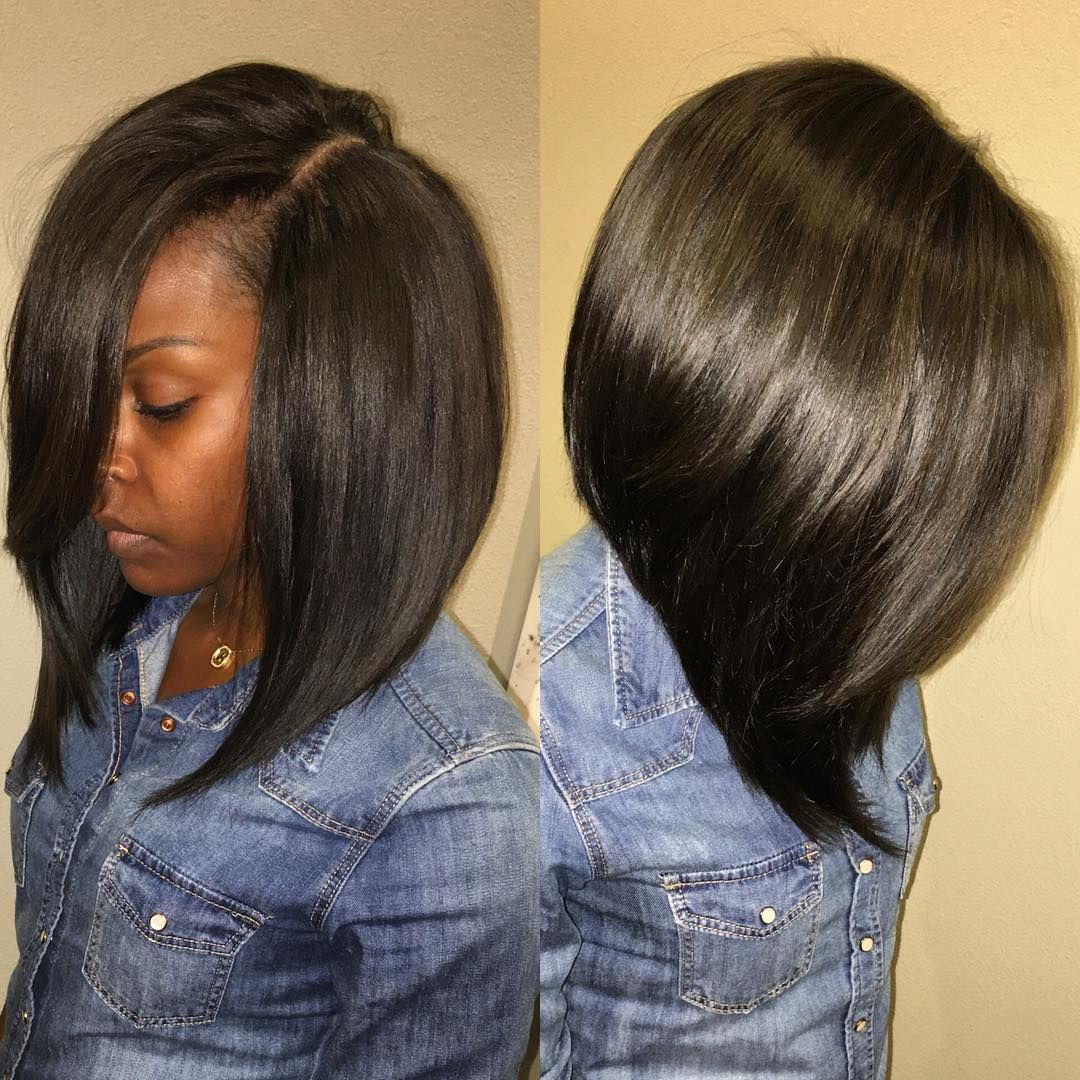 How To Do A Deep Side Part Bob Quick Weave
