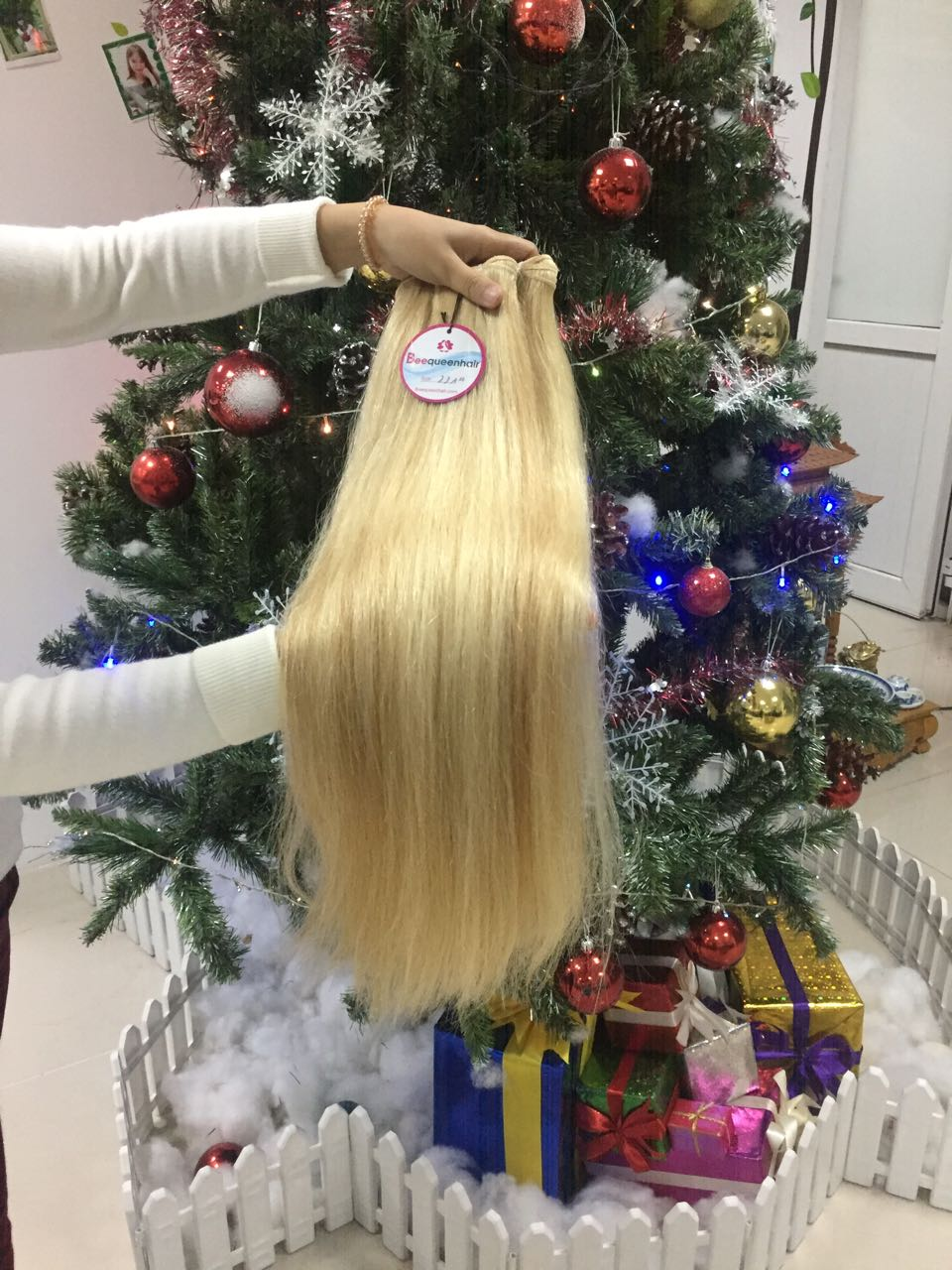 Human Hair Machine Weft Straight Mix #18 And 60 1