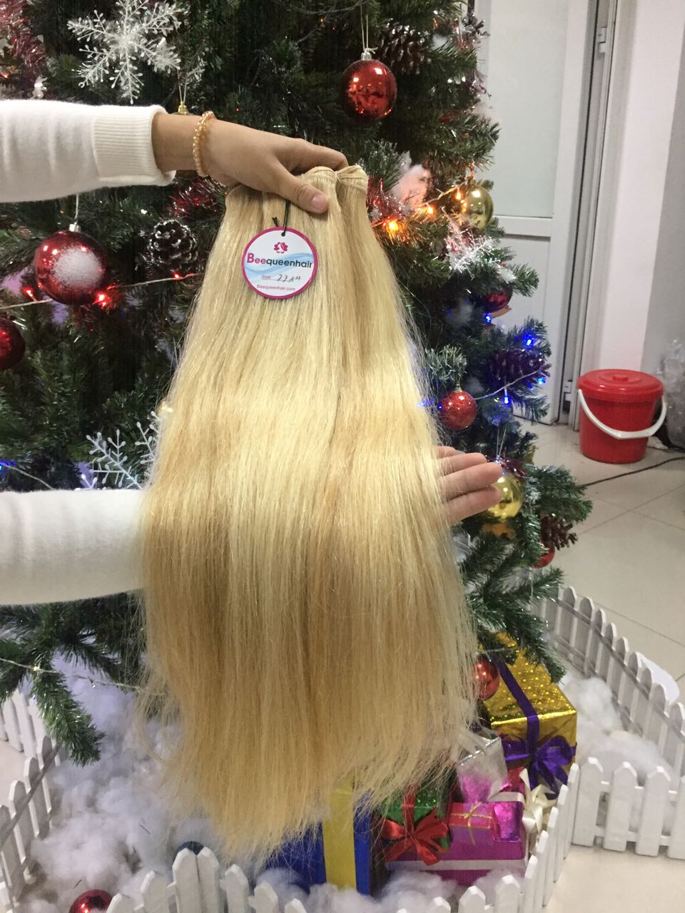 Human Hair Machine Weft Straight Mix #18 And 60 2