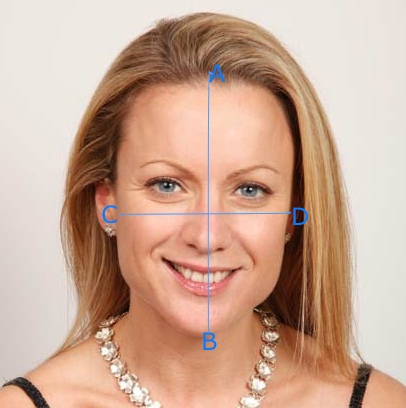 Measure The Length And Width Of Your Face