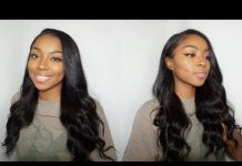 Side Part Quick Weave