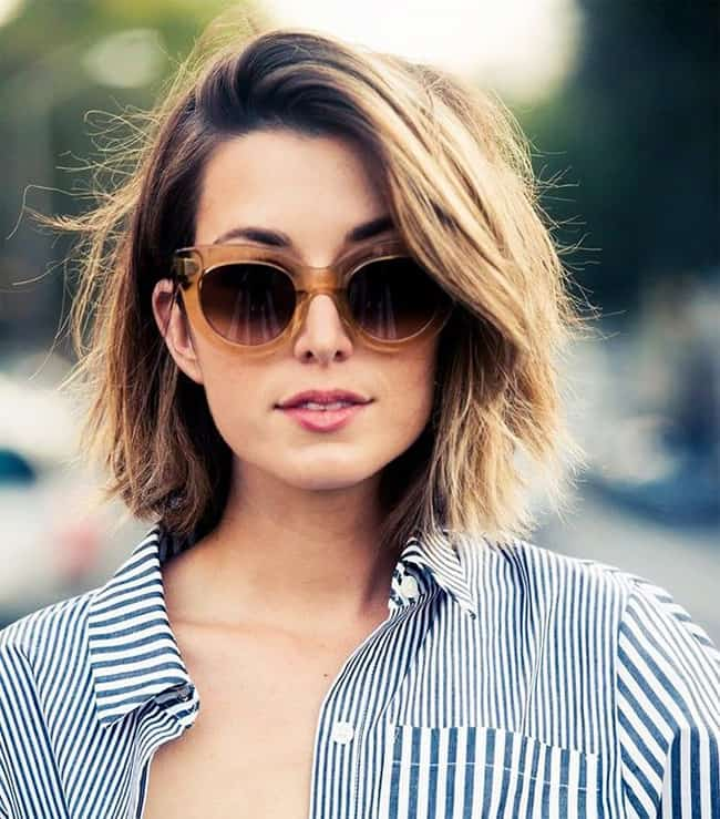 Short Summer Haircuts For Ladies 23