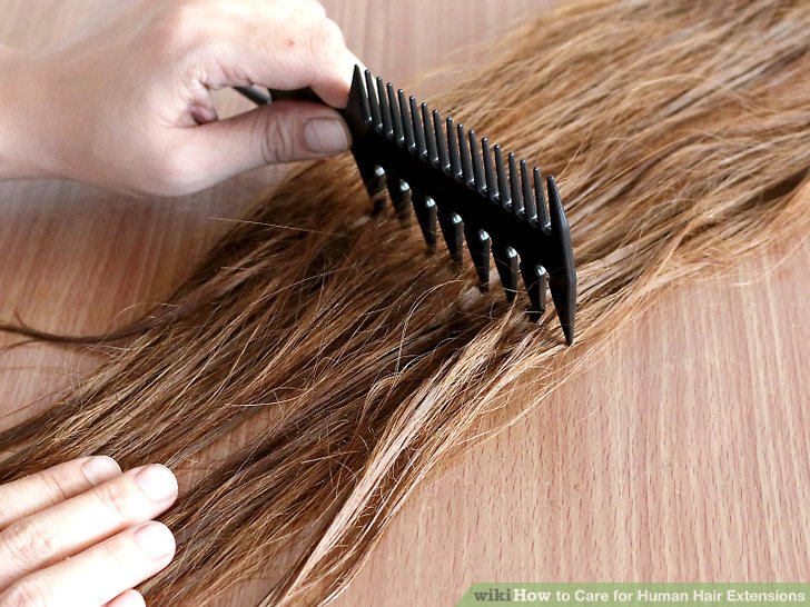 maintain hair extensions 2