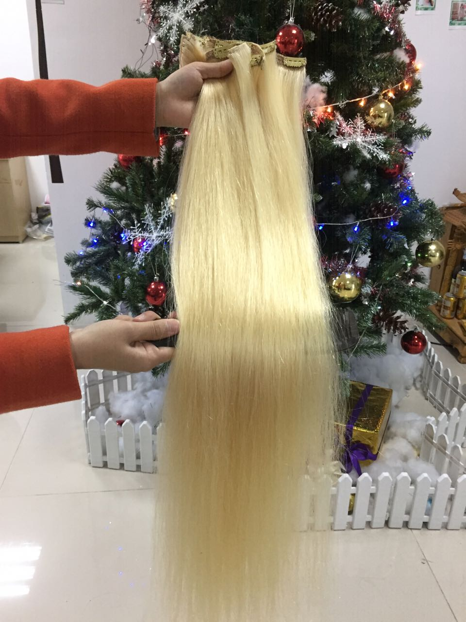 Vietnam Hair Clip In 30 Inches Straight 1