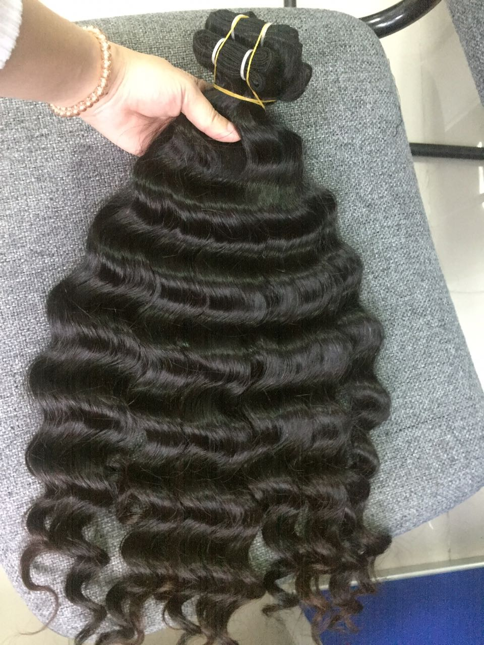 Vietnam Hair Machine Weft #1b Body Wavy 24 2