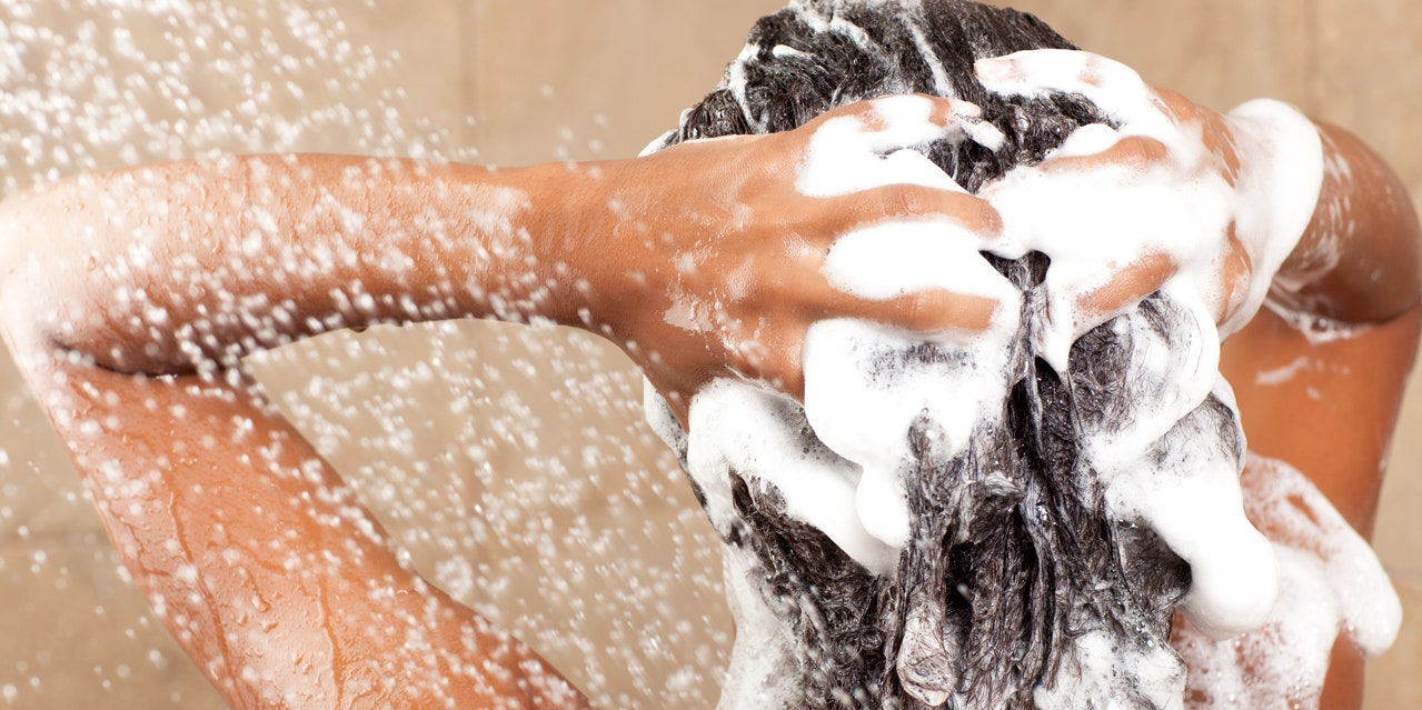 Wash Hair With Shampoo