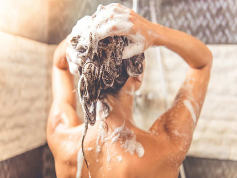 Wash With Moisturizing Hair Care Products